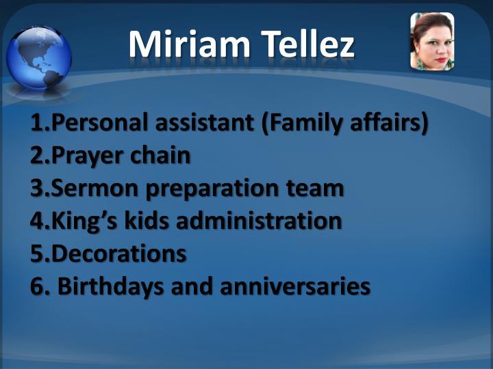 Miriam Tellez