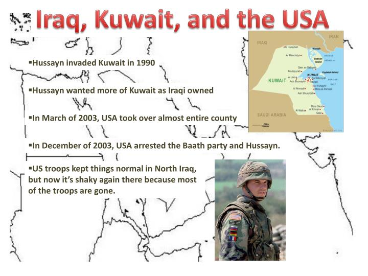 Iraq, Kuwait, and the USA