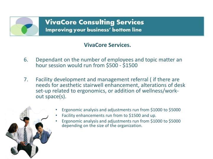 VivaCore Services.