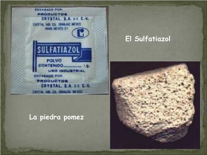 El Sulfatiazol