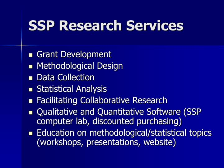 SSP Research Services