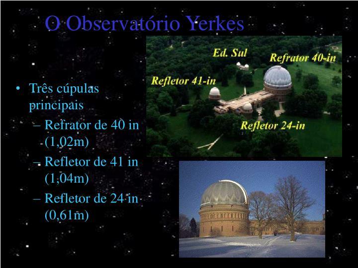 O Observatório Yerkes