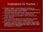implications for practice1