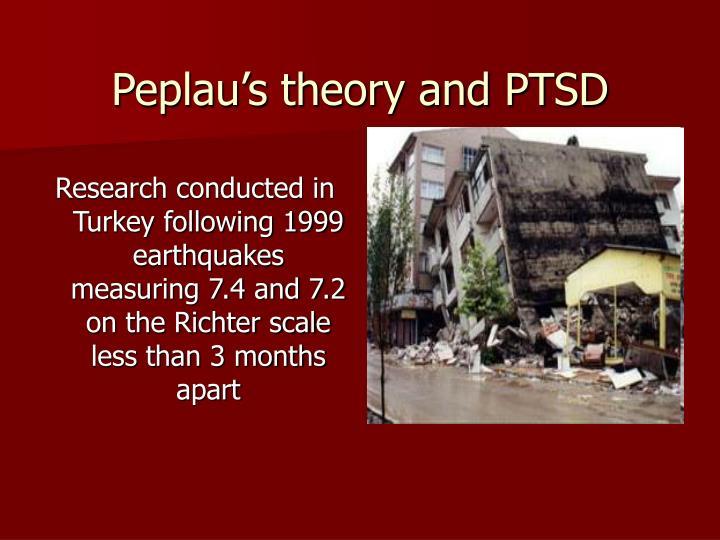 Peplau's theory and PTSD