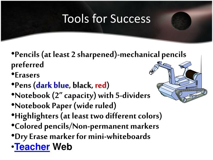 Tools for