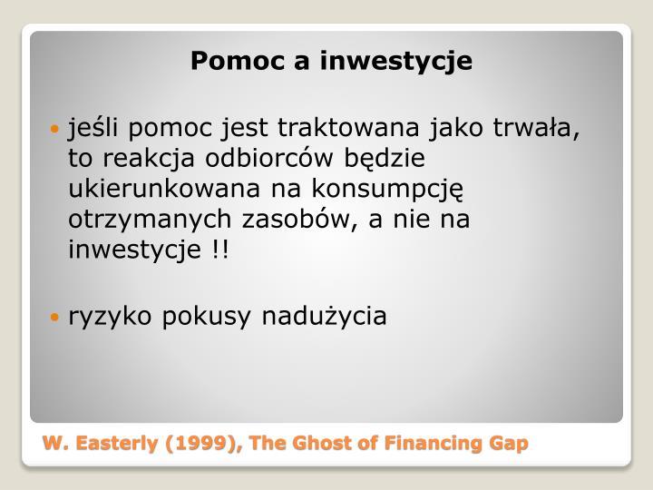 Pomoc a inwestycje