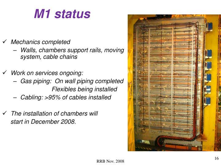 M1 status
