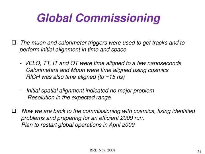 Global Commissioning