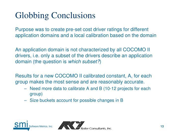 Globbing Conclusions