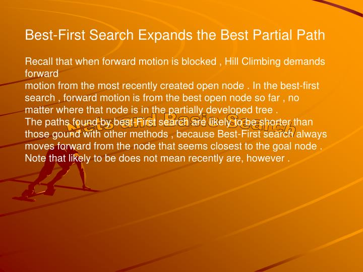 Best-First Search Expands the Best Partial Path