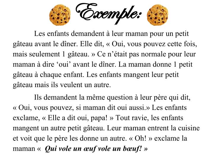 Exemple: