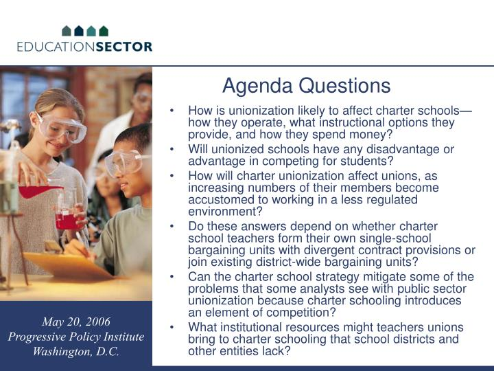 How is unionization likely to affect charter schools—how they operate, what instructional options they provide, and how they spend money?