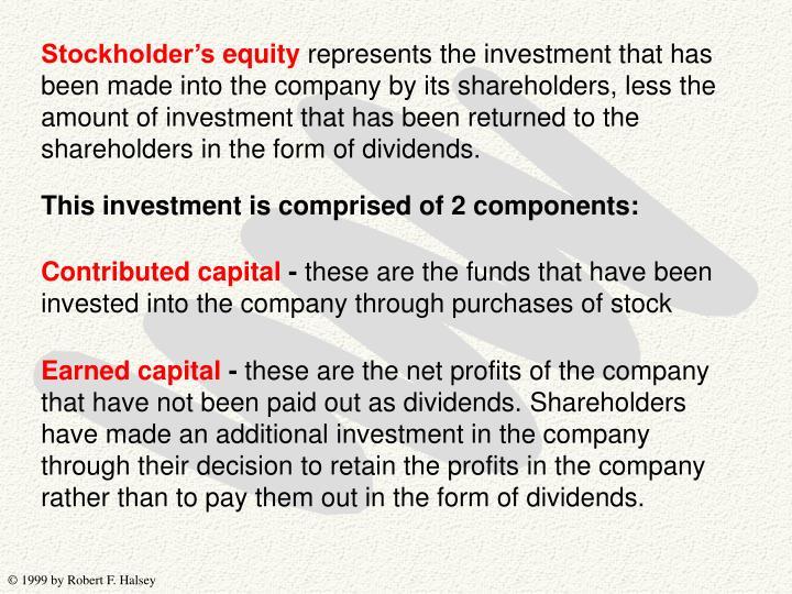 Stockholder's