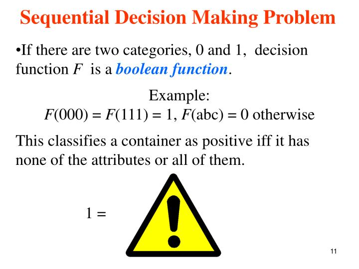 If there are two categories, 0 and 1,  decision function