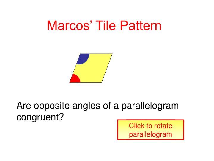 Marcos' Tile Pattern