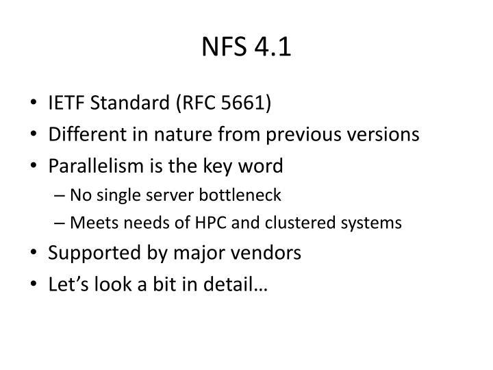 NFS 4.1
