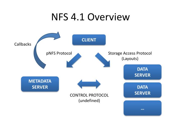 NFS 4.1 Overview