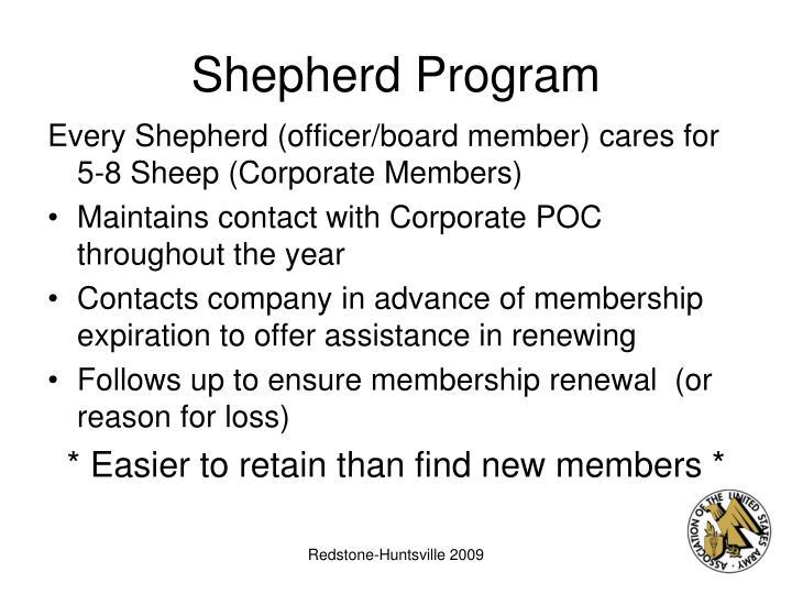 Shepherd Program
