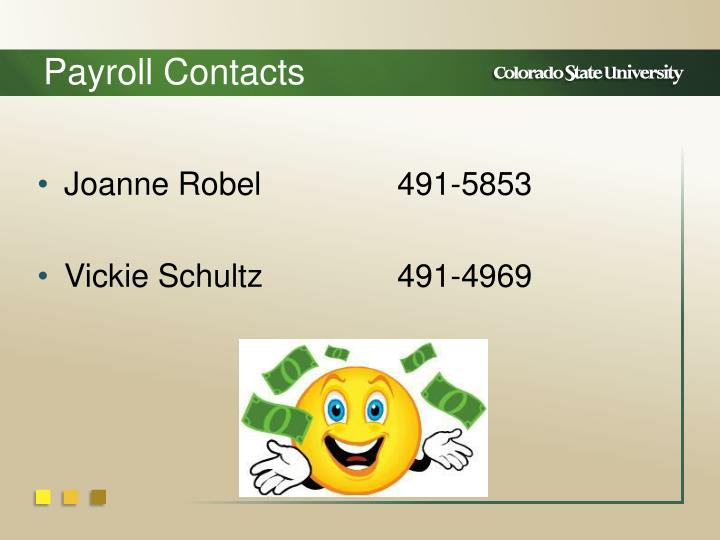 Payroll Contacts