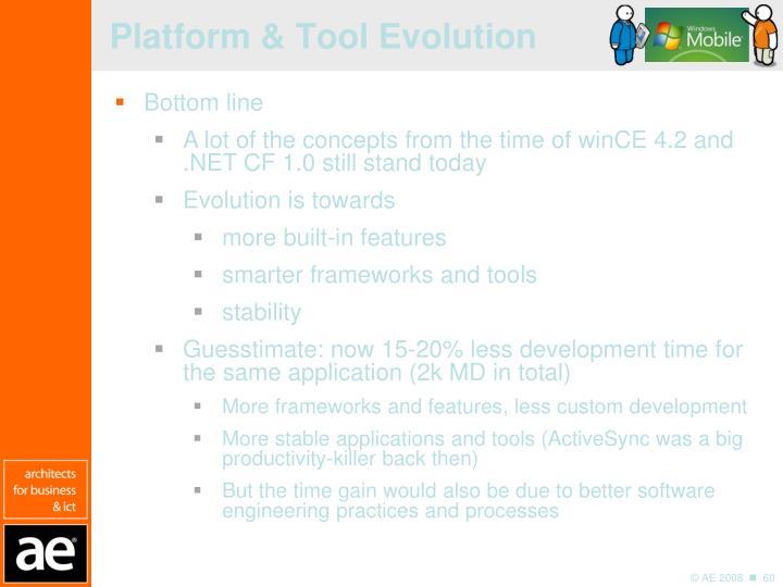 Platform & Tool Evolution