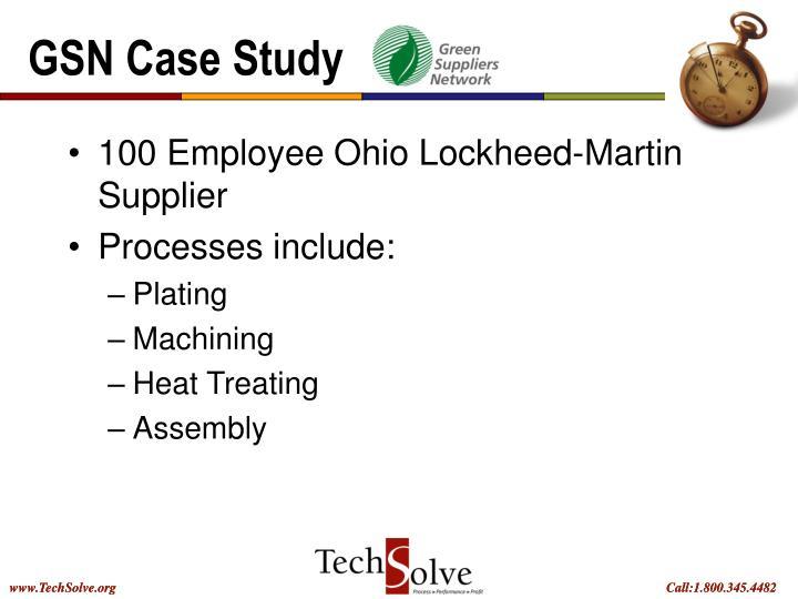 GSN Case Study