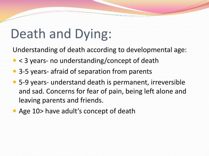 Death and Dying: