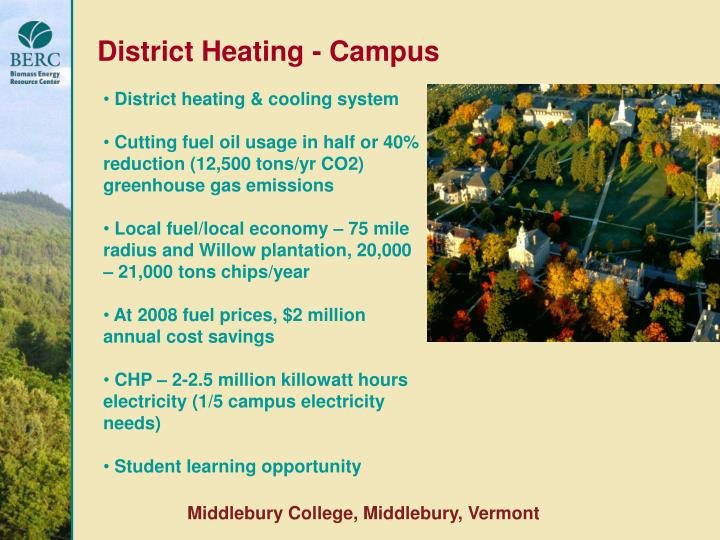District Heating - Campus