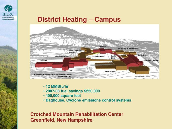 District Heating – Campus