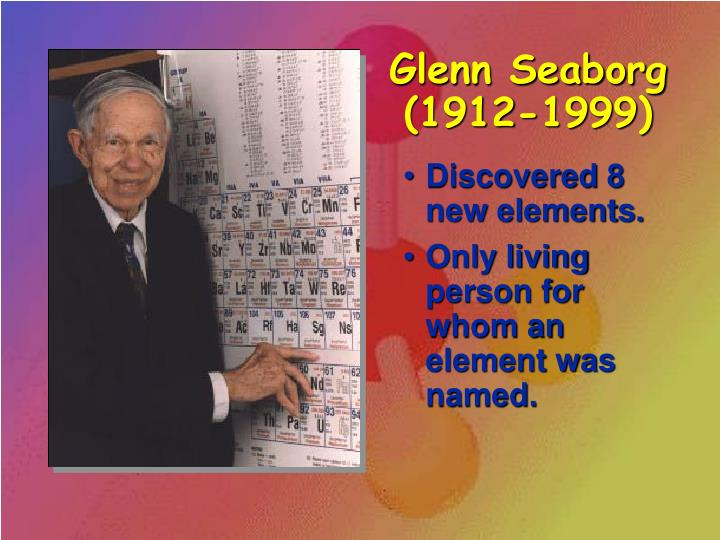 Glenn Seaborg