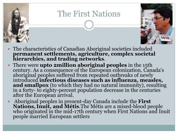 The First Nations