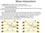 wave interactions1
