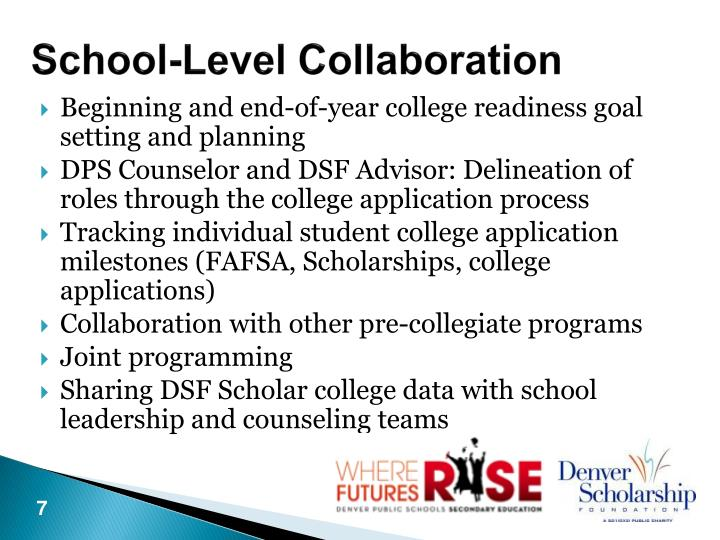 School-Level Collaboration