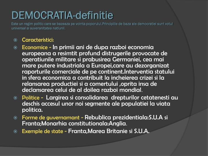 DEMOCRATIA-definitie