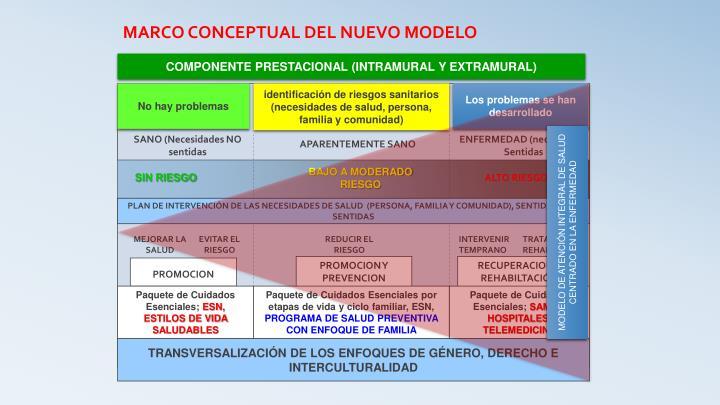 COMPONENTE PRESTACIONAL (INTRAMURAL Y EXTRAMURAL)
