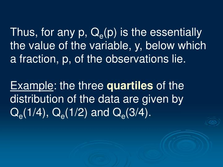 Thus, for any p, Q