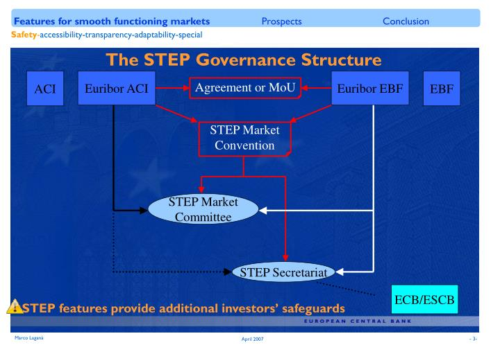 The STEP Governance Structure