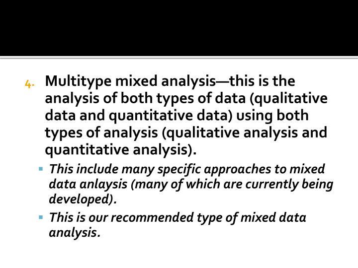 Multitype