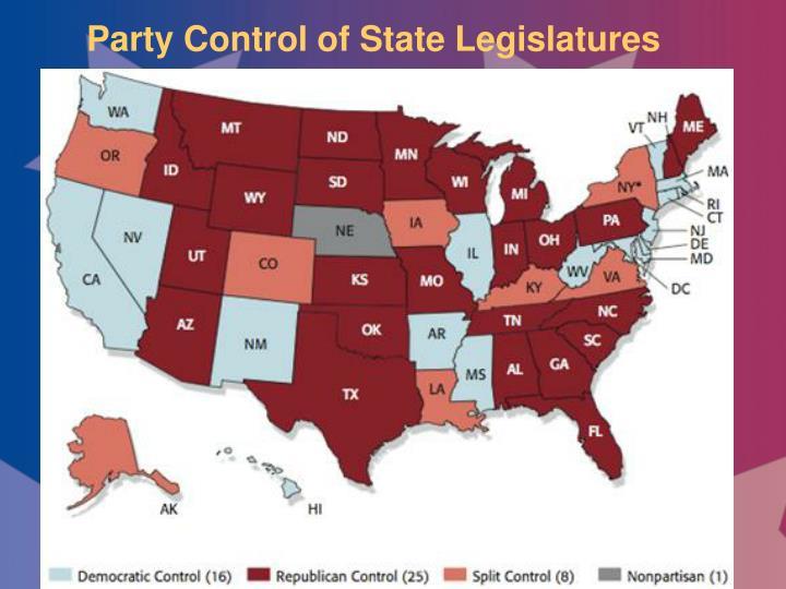 Party Control of State Legislatures