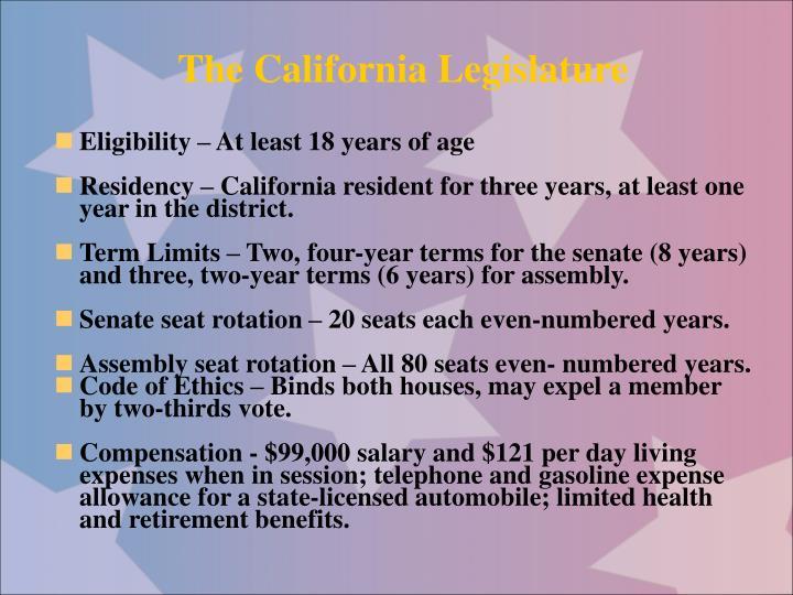 The California Legislature