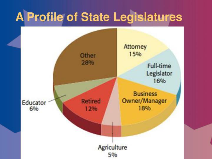 A Profile of State Legislatures