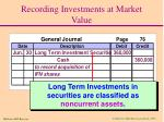 recording investments at market value2