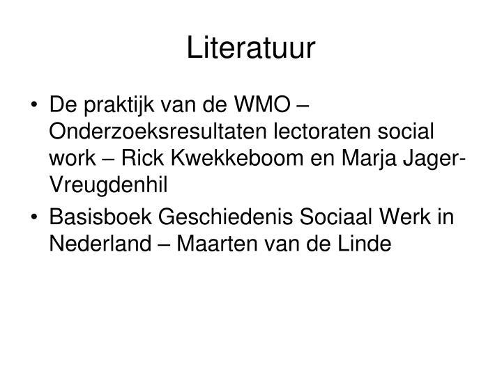 Literatuur