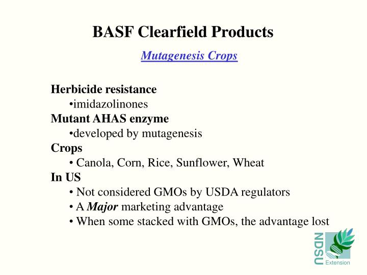 BASF Clearfield Products