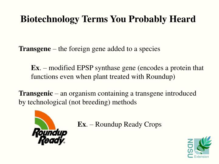 Biotechnology Terms You Probably Heard
