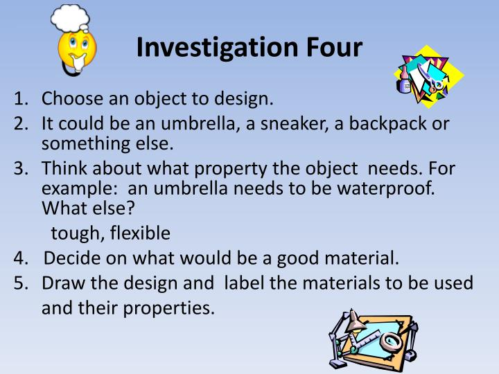 Investigation Four