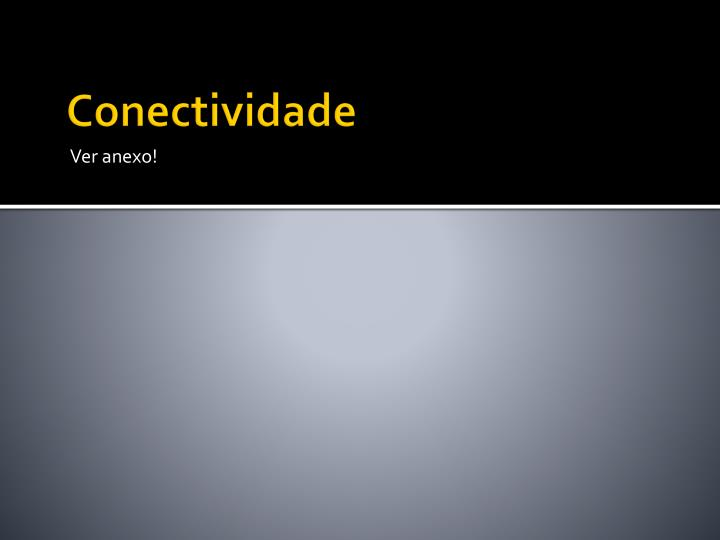 Conectividade