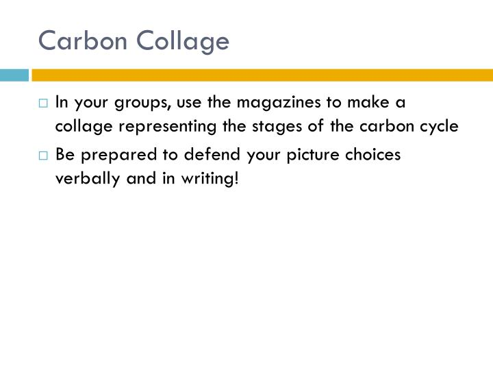 Carbon Collage