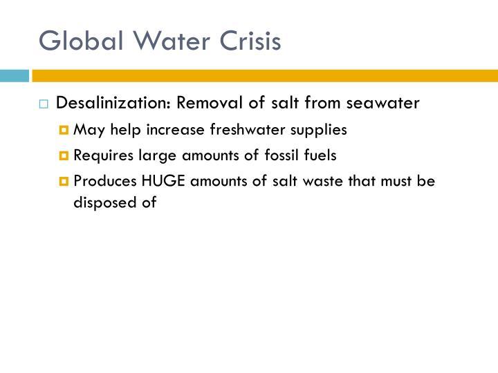 Global Water Crisis