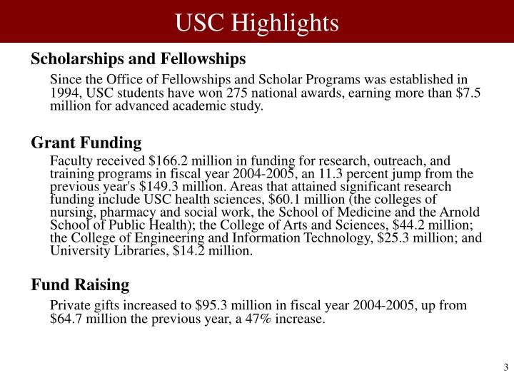 USC Highlights