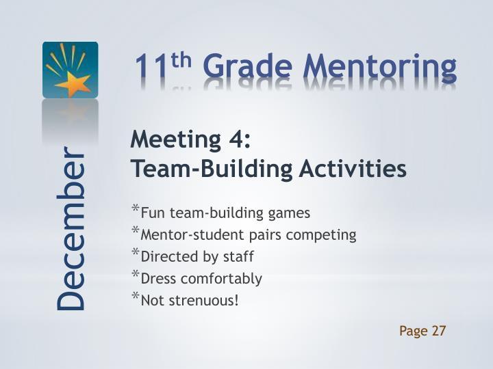 Meeting 4: